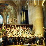 Rehearsing in the Abbey